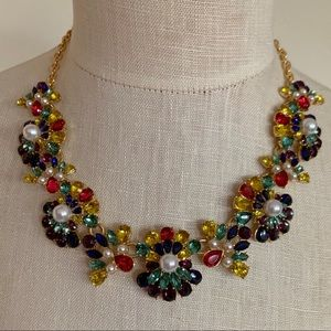 Talbots • Multi Color Statement Necklace